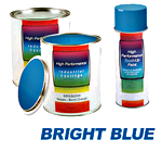 GD70010181 PAINT - BRIGHT BLUE GALLON thumbnail image