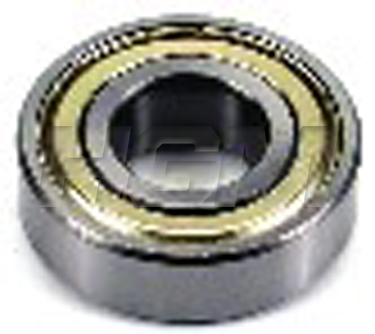 1X6203ZZ BEARING - BALL DOUBLE SHIELD thumbnail image